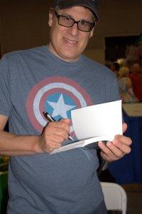Comic writer/artist Stephen McCranie