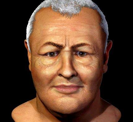 JS Bach facial reconstruction