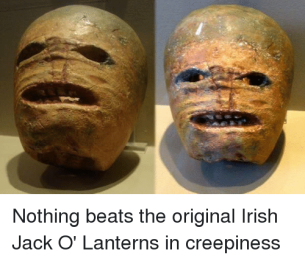 turnip jackolantern